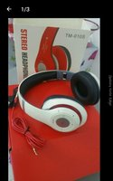 Used Bluetooth headset white in Dubai, UAE