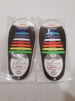 Used no tie shoelaces 32pcs multicolor in Dubai, UAE