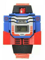 SKMEI Brand Kids LED Digital Children Watch Cartoon Sports Watch