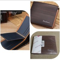 Used Brand new elegant brown men wallet in Dubai, UAE