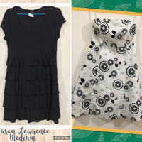 Used 2pcs Preloved Branded Dresses fits M in Dubai, UAE