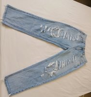 Used PULL AND BEAR rip jeans size 40 in Dubai, UAE