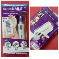 hair removal machine & naked nails