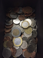 Used More than 150 coins different currencies in Dubai, UAE