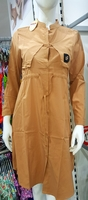 Brown dress for women