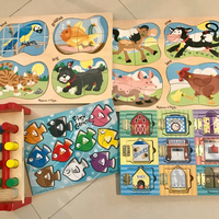 Used Melissa&Doug Kids Puzzle/Toys 2yrs+ in Dubai, UAE