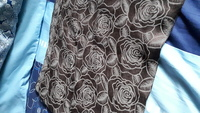 Used Chocolate color scarf or sheilah in Dubai, UAE