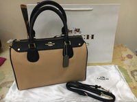 Authentic Coach Bennett Satchel With Tags Brand New Bought In Singapore Few Mos Ago And Never Used With Dustbag Card , Strap And Paper Bag. Flawless Piece.