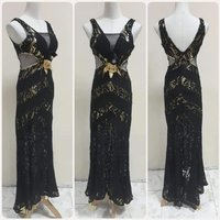 Used Amazing black long dress for women. in Dubai, UAE