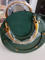 Used ladies bag green round in Dubai, UAE