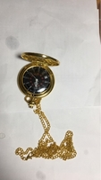 Used Watch with gold chain  in Dubai, UAE