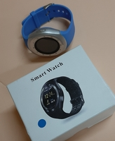 Used New Smart watch, blue ! in Dubai, UAE