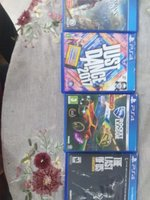 Used Four PS4 games in Dubai, UAE