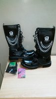 Used Mens Leather Boots D&G (Size 41) in Dubai, UAE