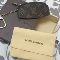 Lv vintage coin purse with key holder