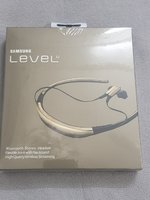 Used Gold earphones Samsung level u. in Dubai, UAE