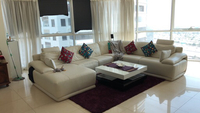 Used 7 seater white lounger sofa in Dubai, UAE