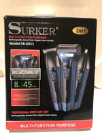 Used SURKER multi hair/shaver trimmer set in Dubai, UAE