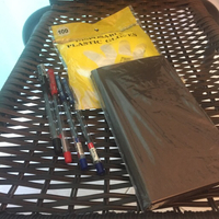 Used Businesses card book pens & gloves  in Dubai, UAE