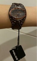 Used police brown watch in Dubai, UAE
