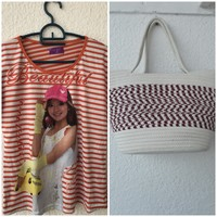 Used BRAND NEW BAG WITH LOVELY SHIRT in Dubai, UAE