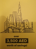 Used Many vouchers in Dubai, UAE
