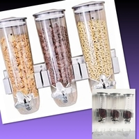 Used # WALL MOUNTED TRIPLE CEREAL DISPENSERS in Dubai, UAE