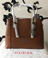 Used Guess Bag Authentic Brand New With Dust Bag Brown Medium Size Elegant Bag in Dubai, UAE