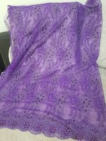 54inchx85inch purple unstitch Seethrough