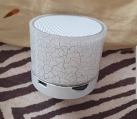 Used white bluetooth speaker with party light in Dubai, UAE
