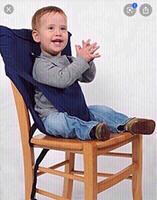 Used Portable baby safety seat 💺 blue  in Dubai, UAE