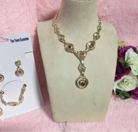 Used Fashion Jewerly set NO TARNISH in Dubai, UAE