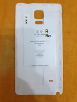 Used Note4 wireless charge support back cover in Dubai, UAE
