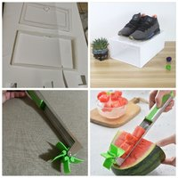 Used Watermelon easy cutter+ free shoe drawer in Dubai, UAE