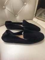 Used ZARA SUEDE LEATHER FLAT SHOES..SIZE40.. in Dubai, UAE