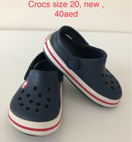 Used Crocs, new, size 21 in Dubai, UAE