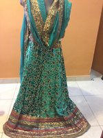 embroided skirt + dupatta before 1089dhs