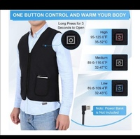 Used Rechargeable Heat Vest size 3XL. in Dubai, UAE