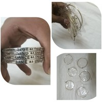 Used Bangles 4 pcs and bracelets 12 pcs in Dubai, UAE