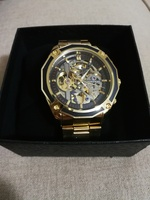 Used New golden Forsining brand watch for him in Dubai, UAE