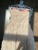 Used Rosy cocktail dress in nude color  in Dubai, UAE