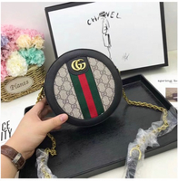 #Gucci round shoulder handbags