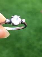 Used 925 silver engagement ring in Dubai, UAE