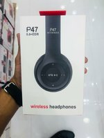 Used P47 black headphones in Dubai, UAE