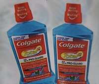 Used Colgate mouth wash 500ml two pieces in Dubai, UAE