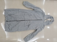 Used Gray long sweatshirt jacket 110cm size M in Dubai, UAE