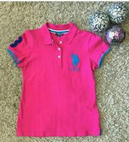 Us polo Cotton Tshirt Used Once Like New Size Medium To Large