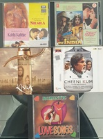 Used MP3 CDs - 5 Pack Hindi Soundtracks in Dubai, UAE