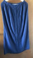 Used Dark blue long skirt Atmosphere size 12 in Dubai, UAE