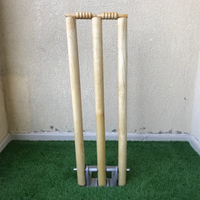 Used Spring back stumps/ wickets (with bails) in Dubai, UAE